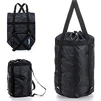 Moppi Gran bolsa de dormir para acampar compresión de la cubierta del bolso de cosas al aire libre a prueba de agua ligera