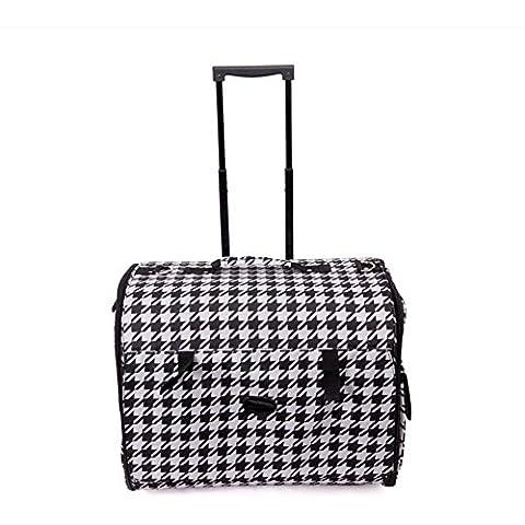 ZZHH Pieghevole borsa da viaggio trolley gabbia portatile cane pacchetto gatto . b