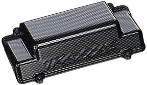 Traxxas 5515G - Funda para Caja de batería de Jato con Acabado de Carbono para Parachoques Trasero