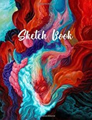 Sketch Book: Drawing Pad for Drawing, Doodling, Painting or Sketching. Notebook Blank Paper Drawing and Write