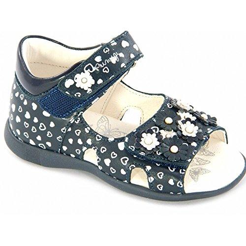 Primigi - Primigi sandali blu fiori bambina 80334 - Blu, 19