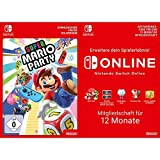 Super Mario Party [Switch Download Code] + Switch Online 12 Monate [Download Code]