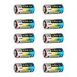 4LR44 6 V para Collar Antiladridos para Perro, Novatech Lote de 10 pilas alcalinas 4LR44 para collar anti ladridos, 6 V, 476 A (10 pilas)