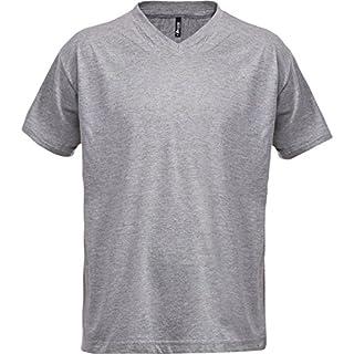 ACODE 101169468T-Shirt V-Neck Light Grey 60/62(XXL)