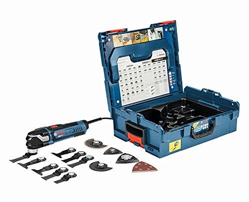 Bosch Professional Multi-Tool GOP 40-30 mit 16 teilig Zubehör-Set, 400 W, Starlock, L-Boxx, 1 Stück, 0601231001 Test