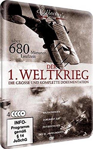 Der 1. Weltkrieg - Die grosse und komplette Dokumentation ( Sammler-Metallbox mit über 680 Min. Laufzeit ) [4 DVDs] (Große Sammler)