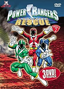 Power Rangers - Lightspeed Rescue Megapack Vol. 2 (Episoden 10-18) (3 DVDs)