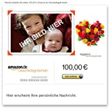 Amazon.de Gutschein per E-Mail mit eigenem Foto (Blumenherz)