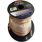 Pyle PSC1250 - Cable para altavoces de alta calidad (calibre 12, bobina de 15,2m)