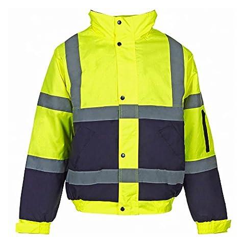My store scarpe da uomo ad alta visibilità ad alta visibilità BOMBER giacca da lavoro da uomo WEAR giaccia imbottita impermeabile con cappuccio giacche