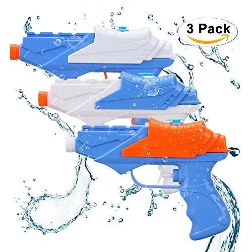 Wasserpistolen Soni 3 PCS Wasser Squirt Gun Für Kinder Water Gun-Pool Party Sommer Outdoor Strand Spielzeug