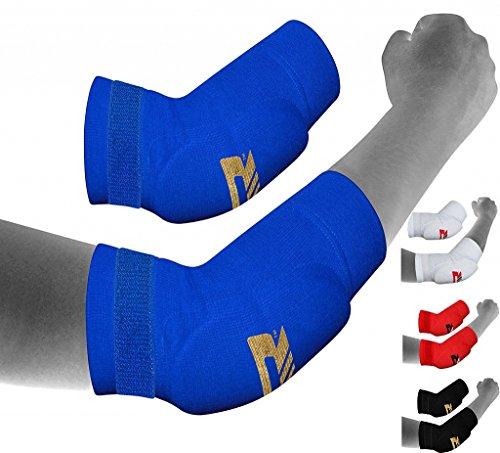 RDX Boxe Supporto Gomito Tutore MMA Gomitiere Pallavolo Elastica Avambraccio Protezione Fascia (Avambraccio Guardia)