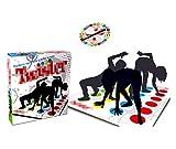 WANXJM Classic Twister Brettspiel, Kinder Erwachsene Balance Floor Spiel, Lernspielzeug Party Game Picknick Outdoor Sport Großes Geschenk
