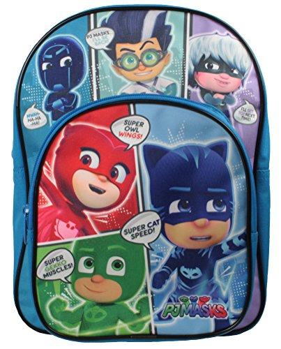 Boys PJ Masks Backpack with Front Pocket Blue
