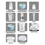 Wonderchef Nutri-Blend 63152586 400-Watt Blender with Juicer Attachment (White)