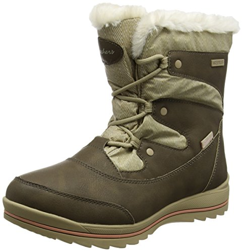 Skechers Damen Colorado Stiefel, Braun (Brown/Tan), 41 EU (Stiefel Fashion Skechers)