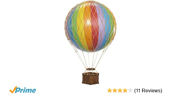Amazon.de: Authentic Models Dekoballon - Ballon Regenbogen - 8 cm