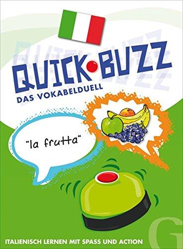 QUICK BUZZ – Das Vokabelduell - Italienisch: Sprachspiel