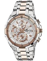 Casio Edifice Chronograph White Dial Men's Watch - EFR-539SG-7A5VUDF (EX222)