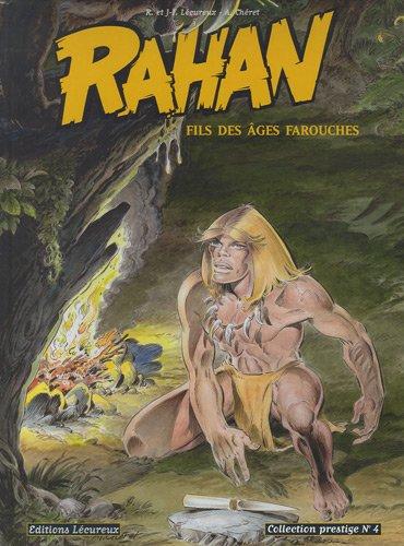 Rahan, tome 4 (Noir et Blanc) Collection prestige (Le combat de Pierrette + Le trésor de Bélesta)