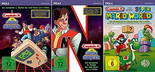 Captain N: Der Game Master Staffel 1-3 (1+2+3) [DVD Set] (N Master Captain Game Der)