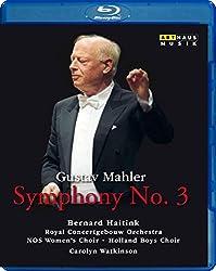 Mahler: Sinfonie Nr. 3 (Concertgebouw 1983) [Blu-ray]