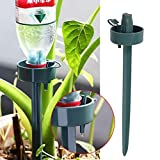 Kicode Automático El plastico Jardín Cono de riego de Spike planta de la flor Botella bebederos Irrigación