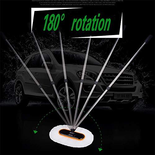 RUIX Autowaschbürste Retractable/Multifunktionsgriff Weiche Bürste/Autowischmop / Autowaschwerkzeug