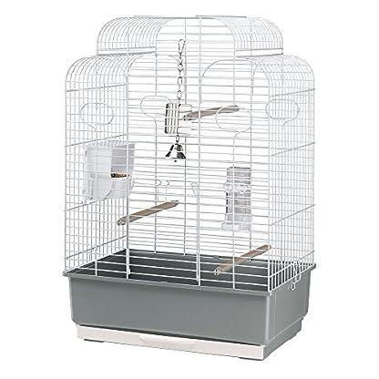 Ferplast Gala Birdcage, 50 x 30 x 75.5 cm, White 1