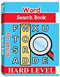 Word Search Books for Adults - Hard Level: Word Search Puzzle Books for Adults, Large Print Word Search, Vocabulary Builder, Word Puzzles for Adults