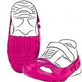 Bobby Car Schuhschoner mit Klettverschluß Pink für Schuhgröße 21-27 • Schuh Schoner Schuhschützer Größe Rutscher