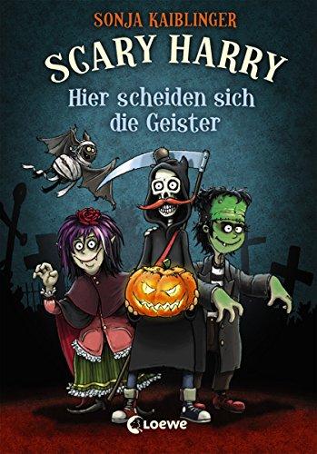 scheiden sich die Geister (Scary Halloween-bücher)