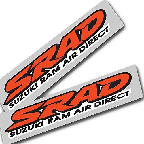 Ziondesigns Suzuki Srad Orange Gsxr Srad Aufkleber Grafiken X 2