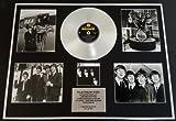 THE BEATLES/GIGANTIC Platin-Schallplatte/RECORD & Foto-Darstellung/Limitierte Edition/COA/WITH THE BEATLES