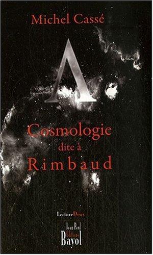Cosmologie dite à Rimbaud