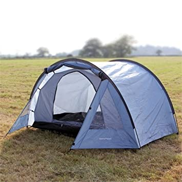 North Gear C&ing Exodus Waterproof 4 Man Tunnel Tent blue Amazon.co.uk Sports u0026 Outdoors  sc 1 st  Amazon UK & North Gear Camping Exodus Waterproof 4 Man Tunnel Tent blue ...