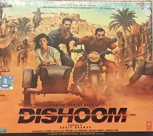 dishoom-single-disc-audio-cd-hindi-film-sound-track-by-jonita-gandhi-2016-10-21