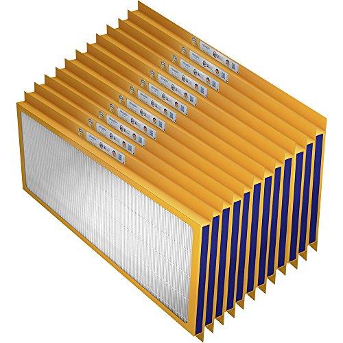 Preisvergleich Produktbild Swirl P71002 (x) Zehnder ComfoAir 350/500/550, ComfoD 350/450/550, ComfoBox, ComfoFond-L Eco, Paul SANTOS (F) 370/570DC (cool), Sole Defroster SD350/550, Wernig G 90-380-500-550/ComfoBox, Ersatzfilter-Set (12 x F7), Stück