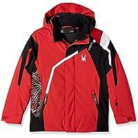 Spyder QUEST Boy's Challenger Ski Jacket red