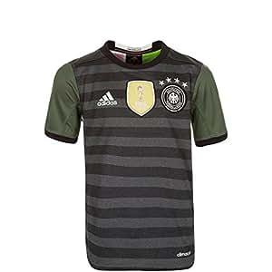 adidas DFB Trikot Home/Away EM Frankreich 2016 Kinder (grau – Away)