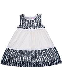 Prakum Girl's A line Dress Sleevless