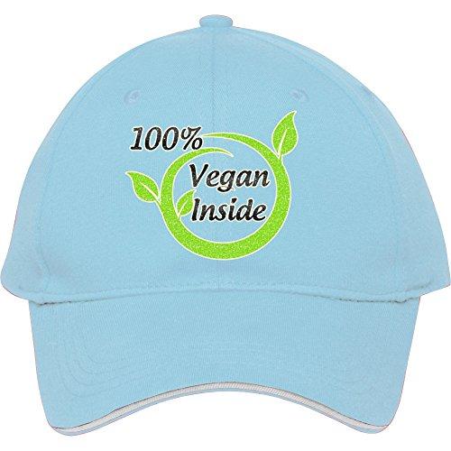 100% Vegan interior gorra sombrero para hombres mujeres gorra de béisbol  algodón donfar 9cf16fb61a9