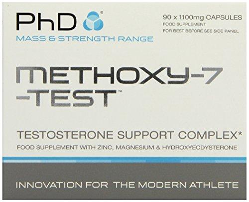 PHD Methoxy-7-Test (90 Kapseln), 1er Pack (1 x 90 g)