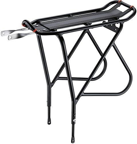 Ibera PakRak Fahrrad Touring Carrier Plus +, Frame-Mounted für schwerere Top & Side Lasten, höhenverstellbar, Fender Board, für 66cm-Frames -
