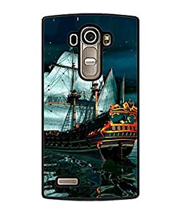 PrintVisa Designer Back Case Cover for LG G4 :: LG G4 Dual LTE :: LG G4 H818P H818N :: LG G4 H815 H815TR H815T H815P H812 H810 H811 LS991 VS986 US991 (Cartoon Picture Animated Fancy Traveling)