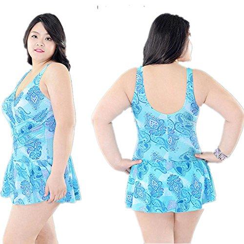 AMYMGLL Frauen Bikini Körper Badeanzug Europa und den Vereinigten Staaten Hot Spring Resort Badeanzug hohe Elastizität Umweltschutz 5