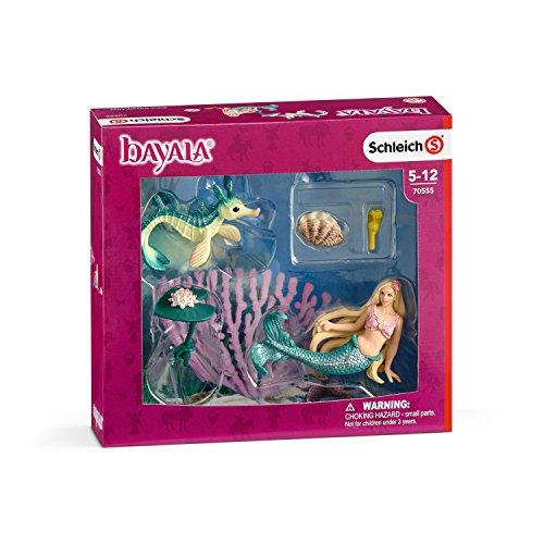helle Figur (Meerjungfrau Spielzeug)
