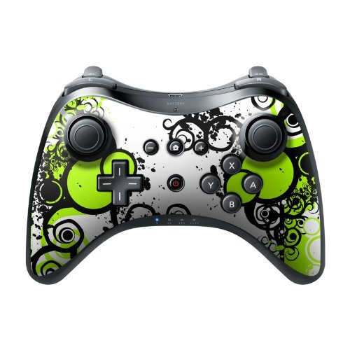 simply-green-design-protective-decal-skin-sticker-high-gloss-coating-for-nintendo-wii-u-pro-controll