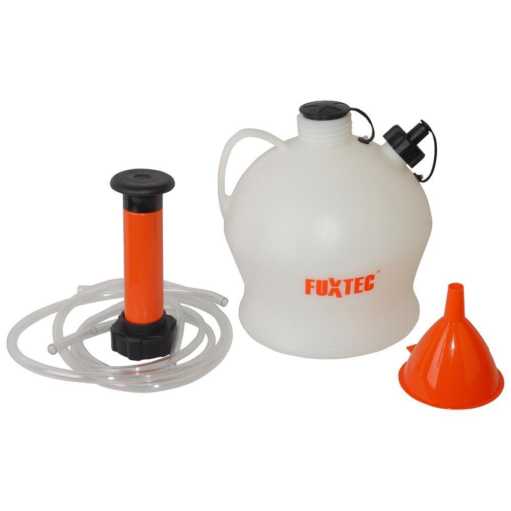 FUXTEC Absaugpumpe FX-AP4L Ölabsaugpumpe Flüssigkeitsabsaugpumpe Ölpumpe 4 Liter