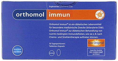 Orthomol Immun Tabletten/Kapseln Kombipackung, 30 Stück, 1er Pack (1 x 120 g) (60 Mg 120 Kapseln)